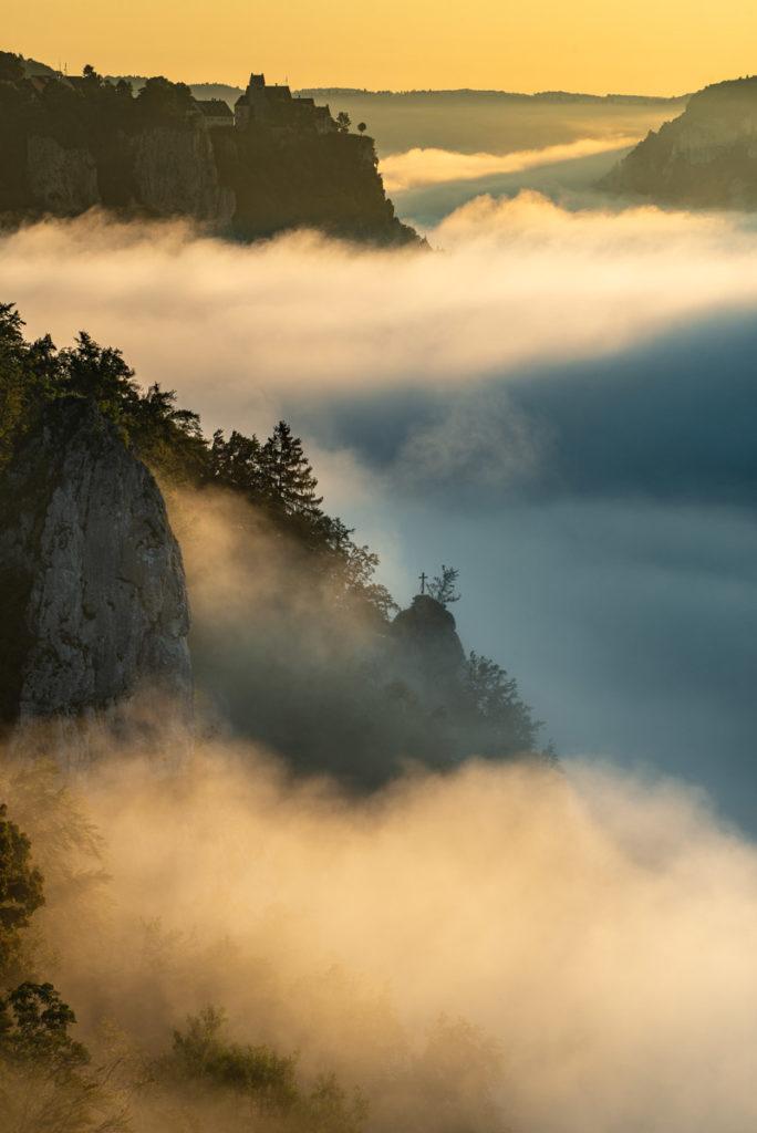 Eichfelsen im Oberen Donautal